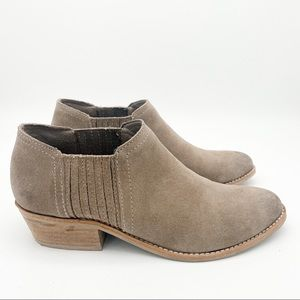 Steve Madden Leather Tan Ankle Booties Size 7